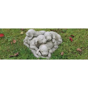 Dragonstone Tuinbeeld stapel puppies