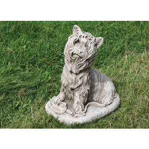 Dragonstone Tuinbeeld grote Yorkshire Terrier hond