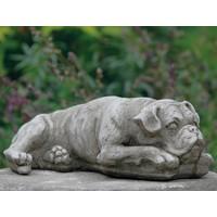 Tuinbeeld Boxer hond