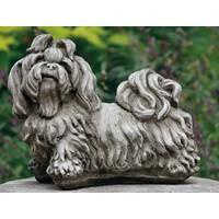Tuinbeeld Shih-tzu hond