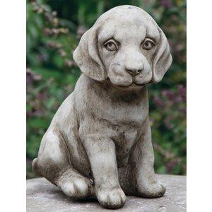 Dragonstone Tuinbeeld kleine zittende puppy
