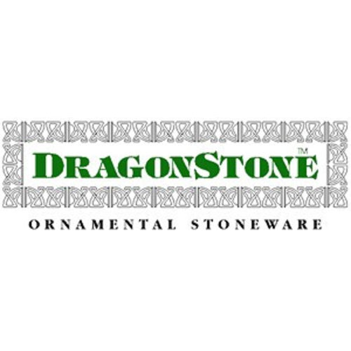 Dragonstone Tuinvaas large regency dragonstone