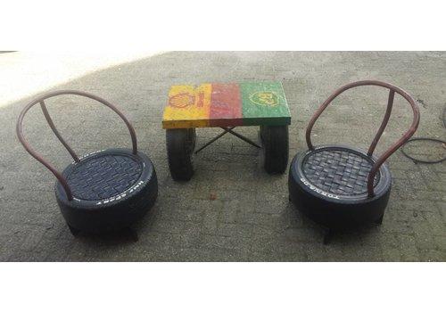 Tuinset Rodara tafel