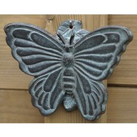 Deurklopper brons vlinder
