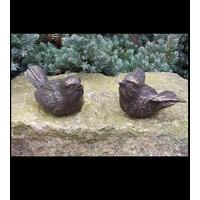 Beeld brons paar vogeltjes