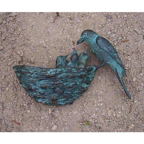 Eliassen Beeld brons vogelnest