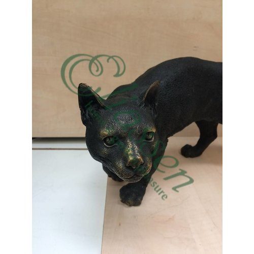 Eliassen Beeld brons kat