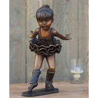 Beeld brons ballerina 35 cm
