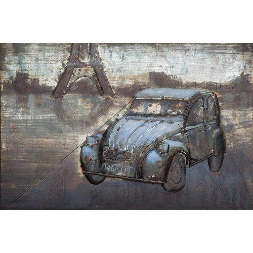 Eliassen 3D schilderij metaal 80x120cm French Pride
