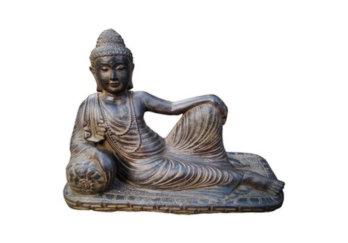 Beeld boeddah relaxend in 3 maten