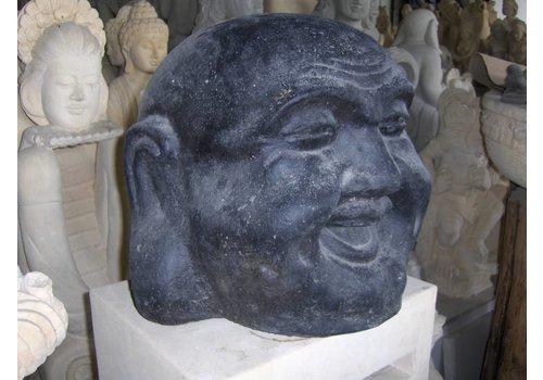 Happy boeddha hoofd beeld