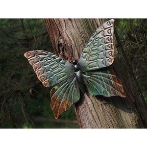 Eliassen Muurdecoratie vlinder groot