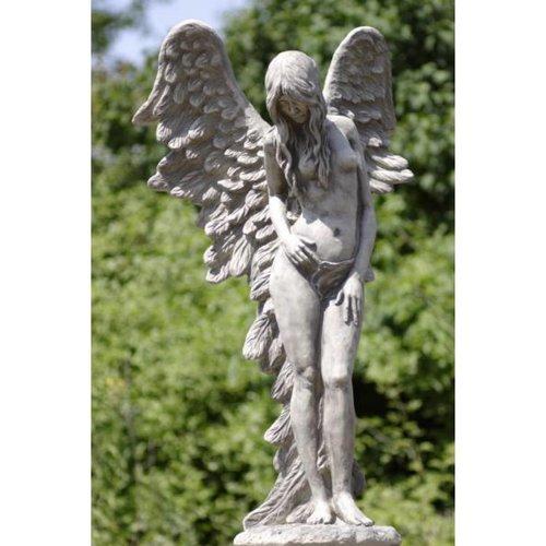 Eliassen Tuinbeeld staande engel groot