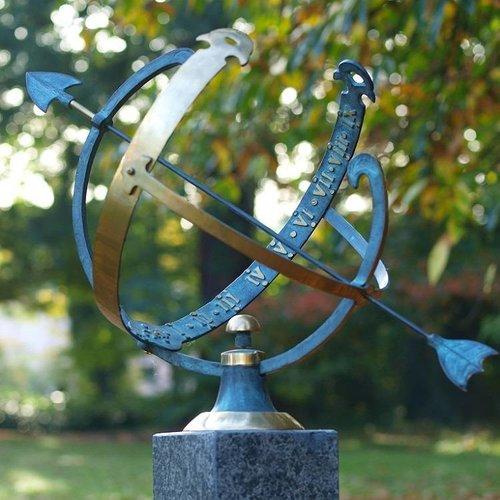 Eliassen Zonnewijzer brons open