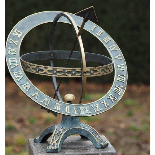 Eliassen Plaatzonnewijzer brons