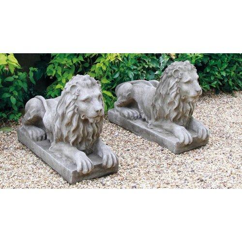 Dragonstone Tuinbeeld fantasy liggende leeuw rechts