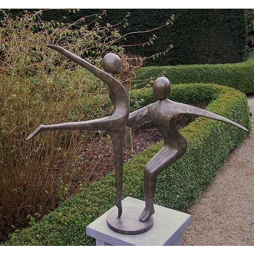 Eliassen Beeld brons abstract danskoppel