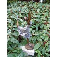 Beeld brons danseres