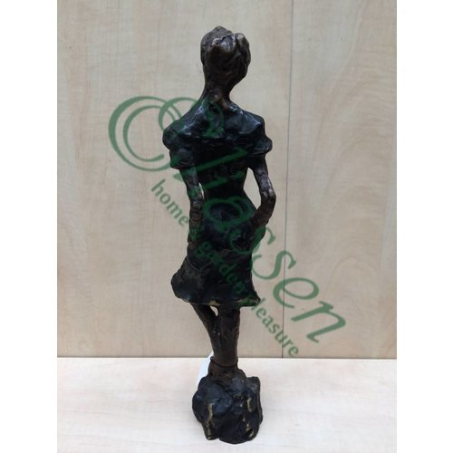 Eliassen Beeld brons moderne vrouw