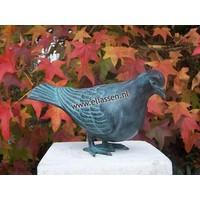 Beeld brons duif 2