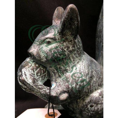 Eliassen Beeld brons eekhoorn
