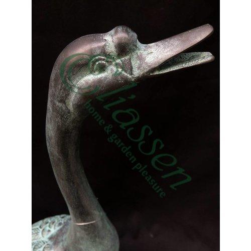 Eliassen Beeld bronzen gans
