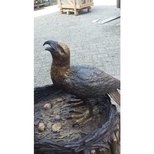 Eliassen Beeld brons arend met nest