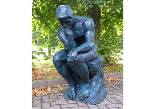 Beeld brons De Denker Van Rodin groot