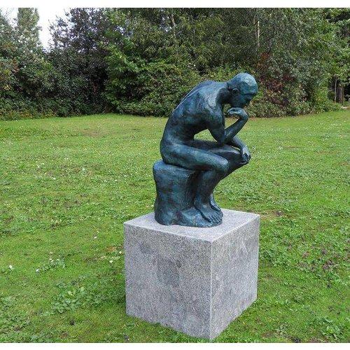 Eliassen Beeld brons De Denker Van Rodin klein
