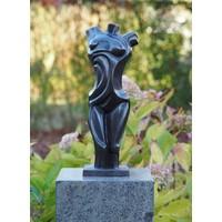Beeld brons moderne vrouwenbuste