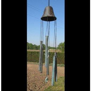 Eliassen Windgong brons grote bel met tulp