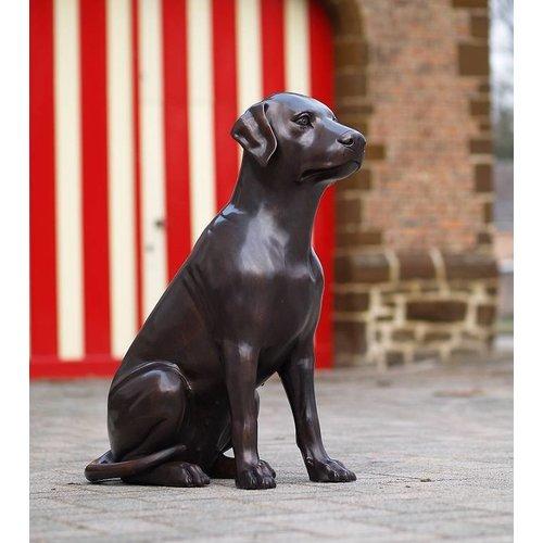 Eliassen Beeld brons hond