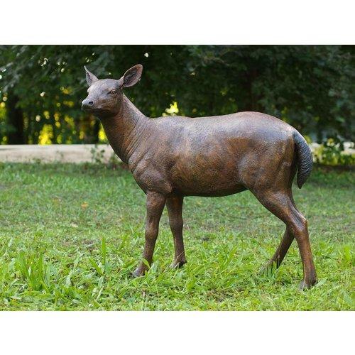 Eliassen Beeld brons hert vrouwelijk