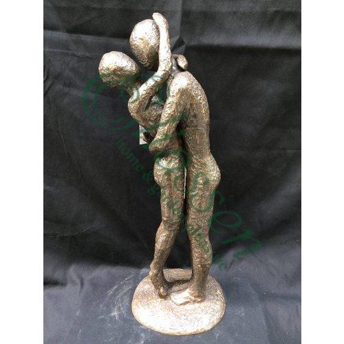 Eliassen Beeld brons modern liefdespaar 1