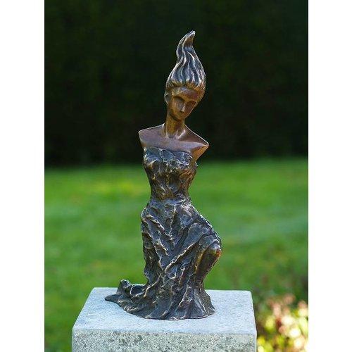 Eliassen Beeld brons moderne vrouw 1