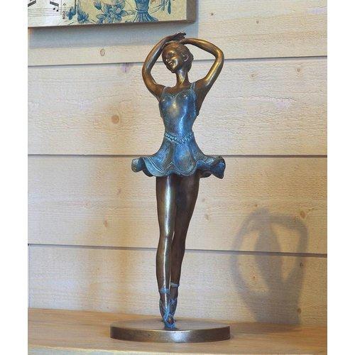 Eliassen Beeld brons danseres op tenen