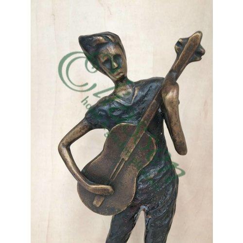 Eliassen Beeld brons moderne muzikanten