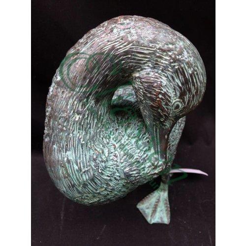 Eliassen Beeld brons krabbende eend
