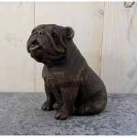 Beeld brons bulldog
