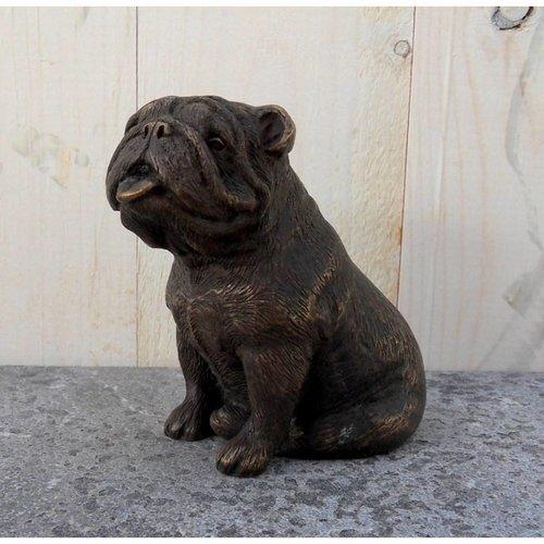 Eliassen Beeld brons bulldog