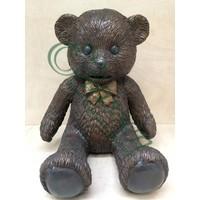 Beeld brons teddybeer