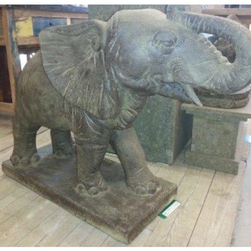 Eliassen Tuinbeeld olifant groot spuitend