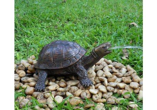 Spuitfiguur brons schildpad