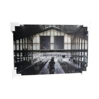 Glasschilderij Station 60x90cm