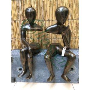 Bronzen koppel