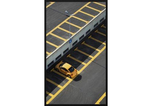 Schilderij forex Parking 118x70cm