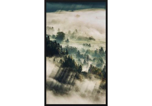 Schilderij forex Onweer 148x98cm