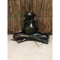 Bronzen Zen-kikker