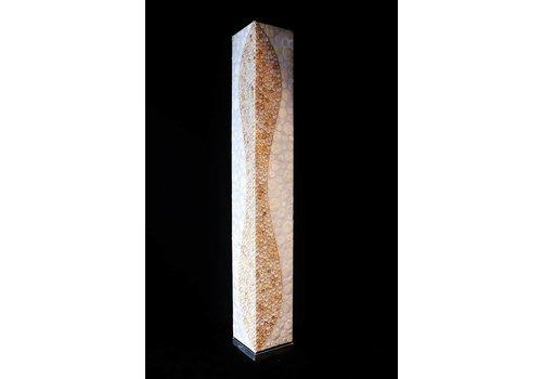 Vloerlamp vierkant Dru 150cm