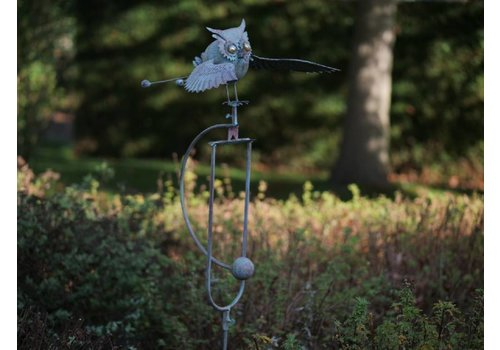 Balans  tuinsteker Uil vliegend